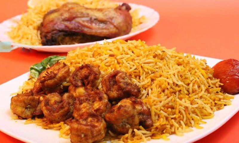 استانبولی میگو برنج میگو نخود فرنگی رب گوجه فرنگی سیب زمینی میخک خشک ادویه بوشهر