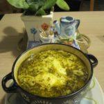 پیاز اشکنه آرد گندم سبزیجات خشک سیب زمینی گوجه فرنگی تخم مرغ زردچوبه تهران