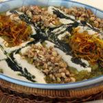 حلیم بادمجان گوشت برنج عدس کشک گردو روغن نعناع خشک اصفهان