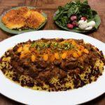 دمپختک با ماش وجه فرنگی گوشت گوسفند به هویج پیاز برنج ماش ادویه اصفهان