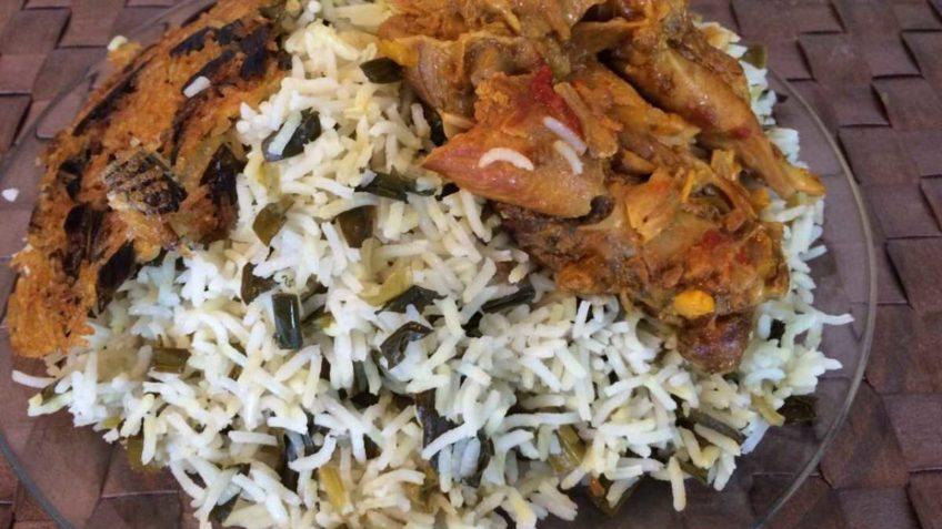 والک پلو البرز برنج روغن