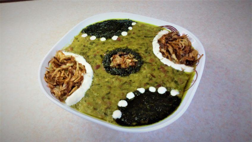آش گندم اصفهان سرزمین غذا غذالند