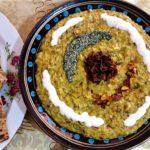 حلیم بادمجان اصفهان سرزمین غذا غذالند