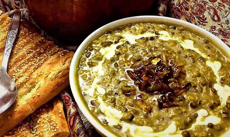 اش سبزی شیراز غذالند سرزمین غذا