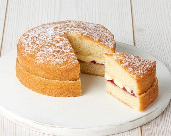 کیک اسفنجی ساده اروپا غذالند