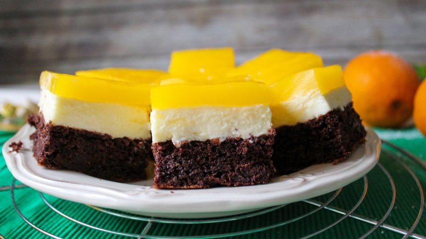 کیک با روکش ژله کیک ژله ای غذالند ایران