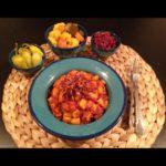 دو پیازه آلو فارس شیراز سیب زمینی غذالند