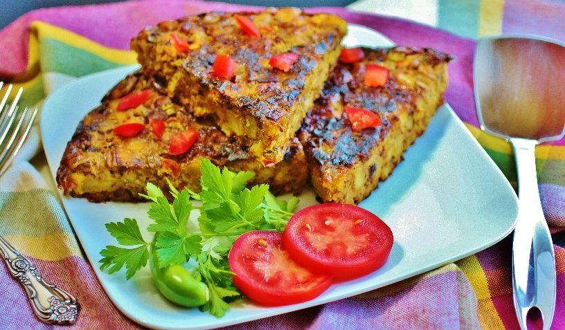کوکو بادمجان فارس شیراز غذالند بادمجان