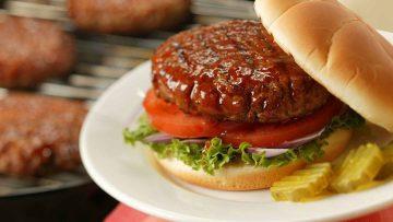 همبرگر خانگی - غذالند