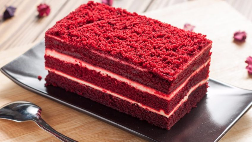 کیک قرمز مخملی امریکا غذالند