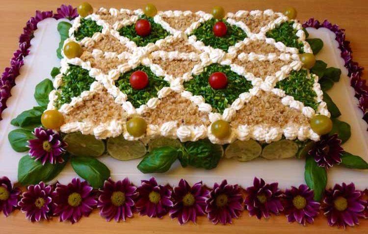 کیک مرغ ایران غذالند