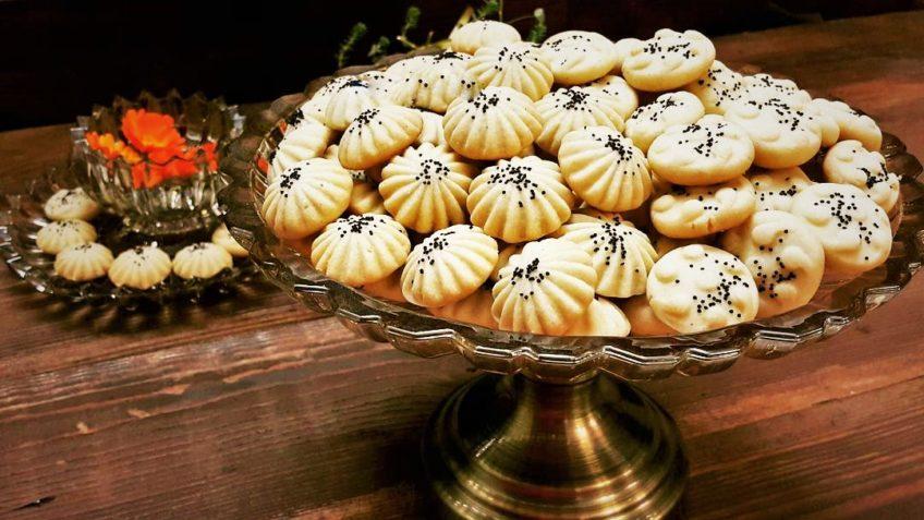نان برنجی کرمانشاه شیرینی عید نوروز غذالند
