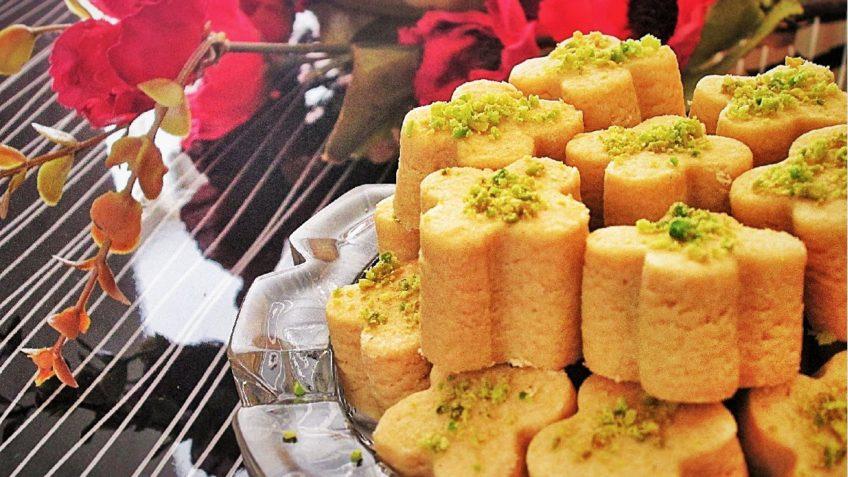 نان نخودچی قزوین غذالند عید نوروز