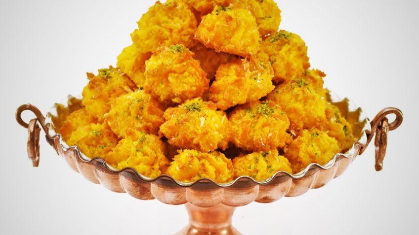 شیرینی نارگیلی عید نوروز غذالند