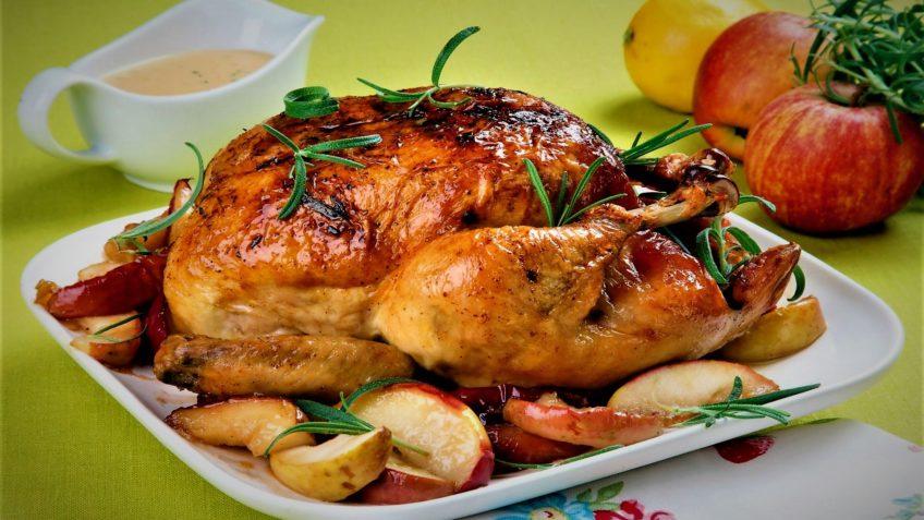 مرغ شکم پر یاسوج غذالند