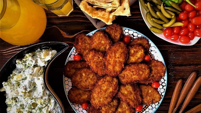 کتلت ایران غذالند سرزمین غذا