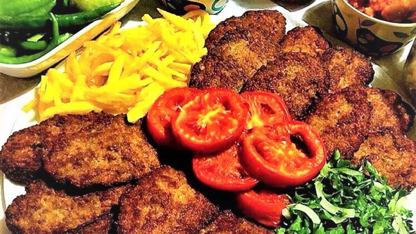 کتلت ایران سرزمین غذا غذالند
