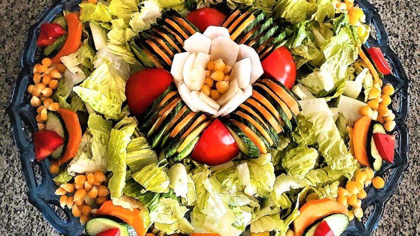 سالاد فصل ایران سرزمین غذا غذالند