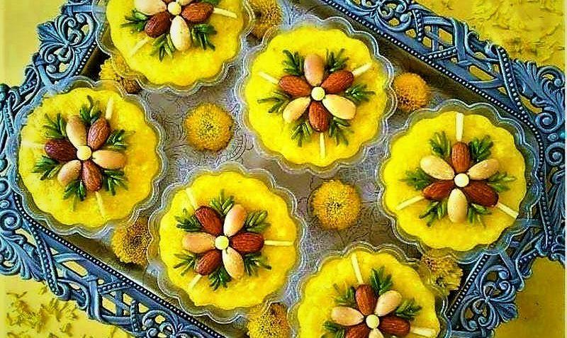 شله زرد ایران سرزمین غذا غذالند