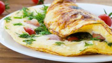 omlet panir - ghazaland