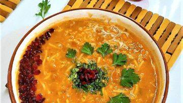 سوپ جو ایران غذالند سرزمین غذا