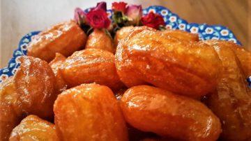 شیرینی بامیه ایران غذالند سرزمین غذا