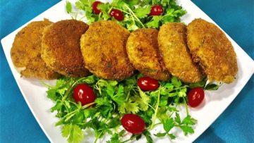 کتلت نخود ایران سرزمین غذا غذالند