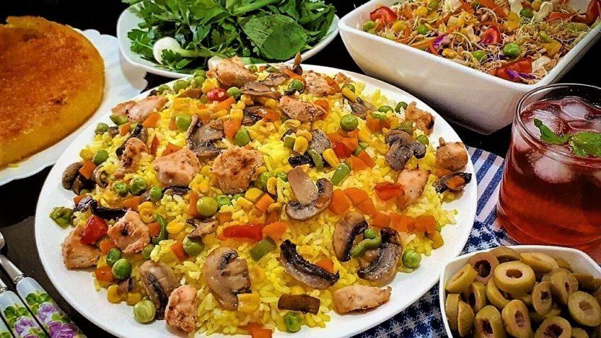 پلو یونانی یونان سرزمین غذا غذالند