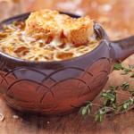 سوپ پیاز فرانسوی فرانسه سرزمین غذا غذالند