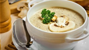 سوپ شیر ایران غذالند سرزمین غذا