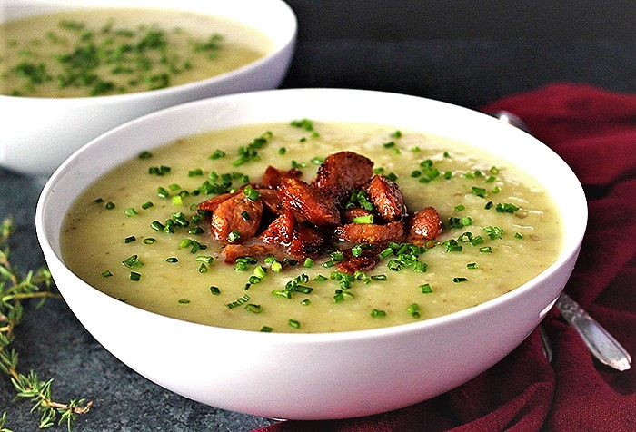 سوپ تره فرنگی انگلستان ولز سرزمین غذا غذالند