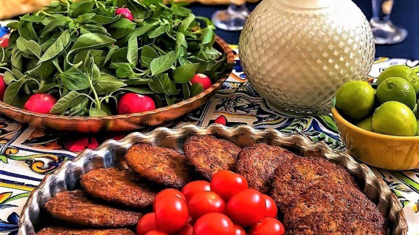 کتلت طلایی ایران سرزمین غذا غذالند