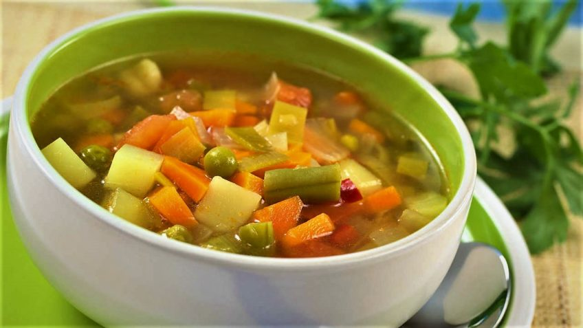 سوپ سبزیجات رژیمی ایران سرزمین غذا غذالند