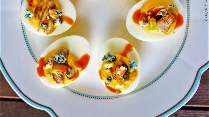 تخم مرغ تند هندوستان غذالند سرزمین غذا