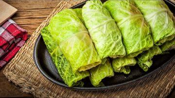 دلمه کاهو ایران سرزمین غذا غذالند