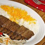 کباب برگ ایران غذالند سرزمین غذا غذالند