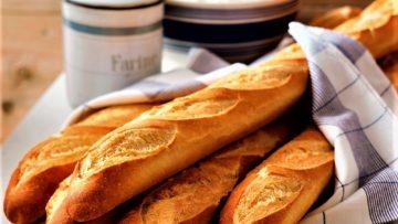 نان باگت فرانسه سرزمین غذا غذالند