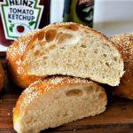 نان همبرگر آلمان غذالند سرزمین غذا