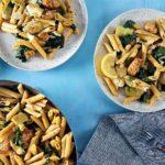 پاستا لیمویی ایتالیا سرزمین غذا غذالند