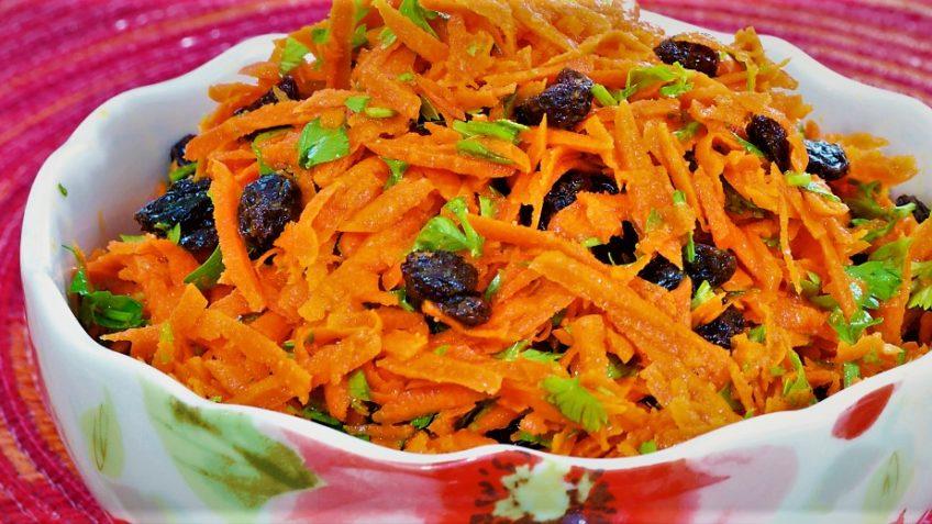 سالاد هویج تایلندی تایلند سرزمین غذا غذالند