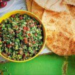 سالاد تبوله لبنان غذالند سرزمین غذا