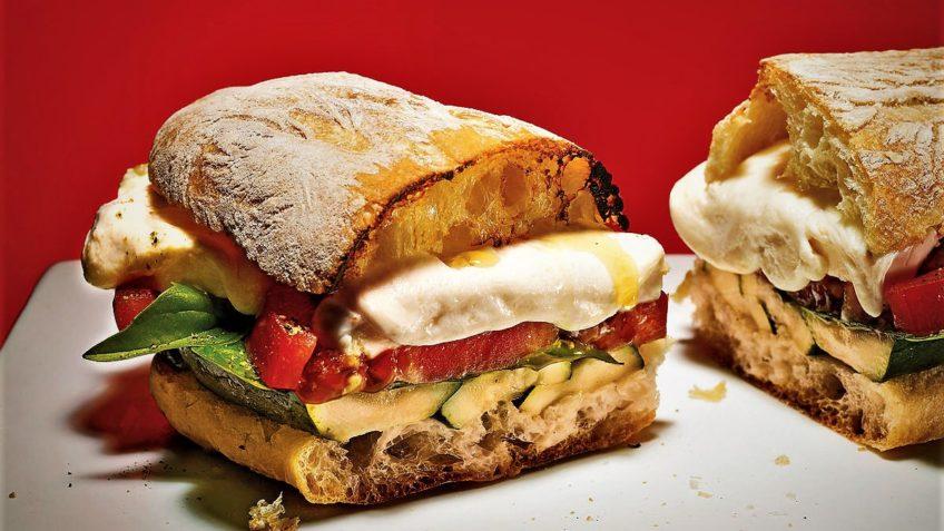 ساندویچ کدو سبز ایران غذالند سرزمین غذا