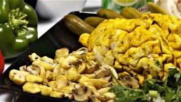 ساندویچ مغز ایران غذالند سرزمین غذا