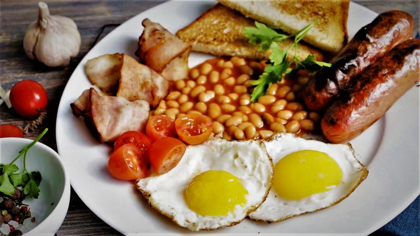 صبحانه انگلیسی انگلستان سرزمین غذا غذالند