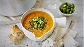 سوپ هویج و شلغم ایران غذالند سرزمین غذا