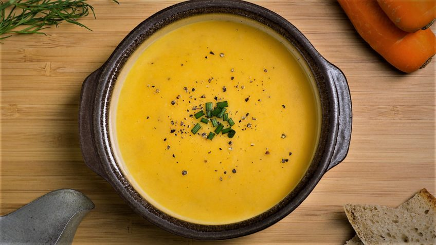 سوپ هویج ایران سرزمین غذا غذالند
