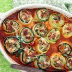 رول کدو گوشتی - غذالند - آشپزی ایتالیایی