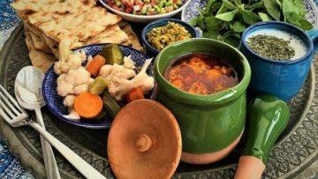 آبگوشت به و گردو مرکزی اراک غذالند سرزمین غذا