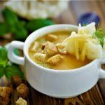 سوپ سبزیجات و لوبیا غذالند سرزمین غذا ایران
