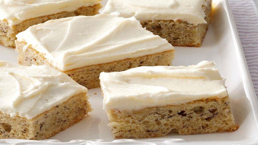 کیک موزی با پنیر - غذالند